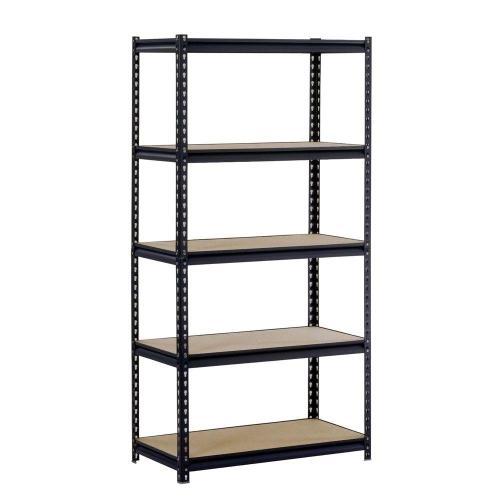 Medium Of Adjustable Shelving Units Wood