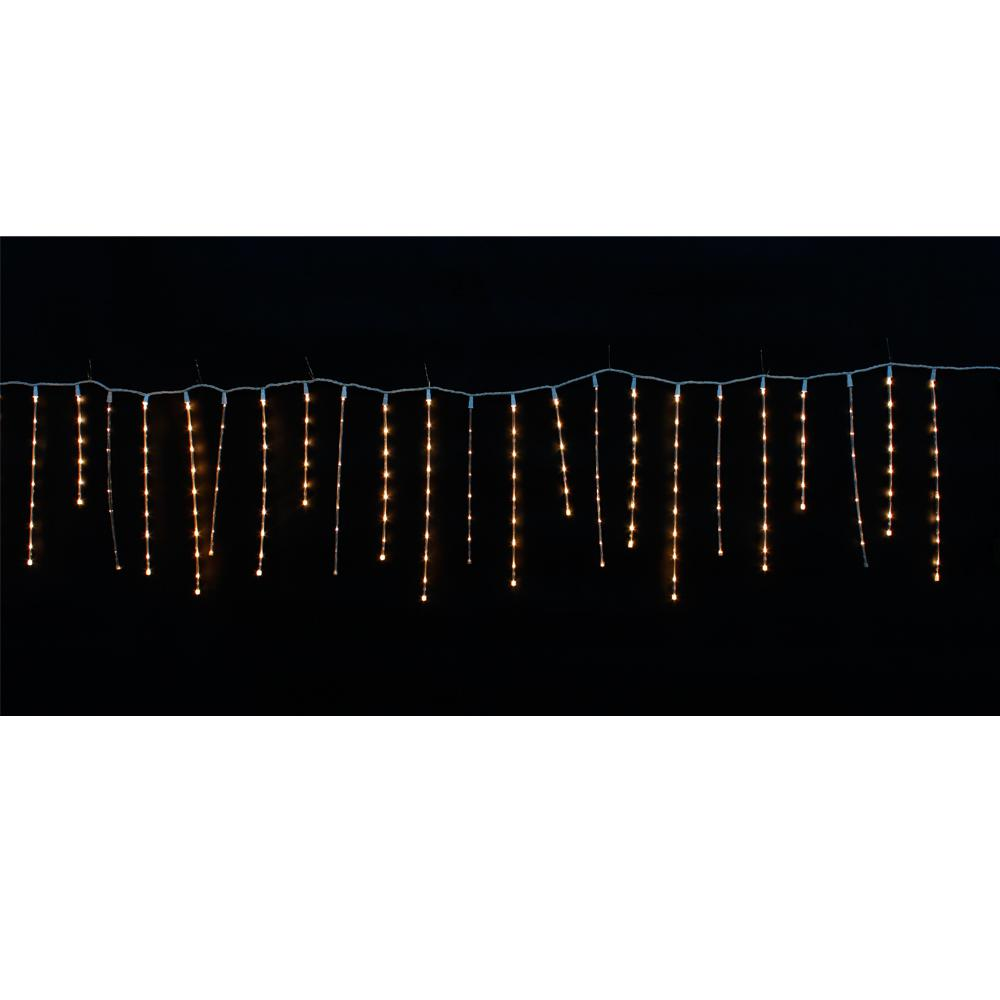 Jb Lighting Micro 150 10 Ft 200 Light Warm White Micro Dot Led Twinkling Icicle Light