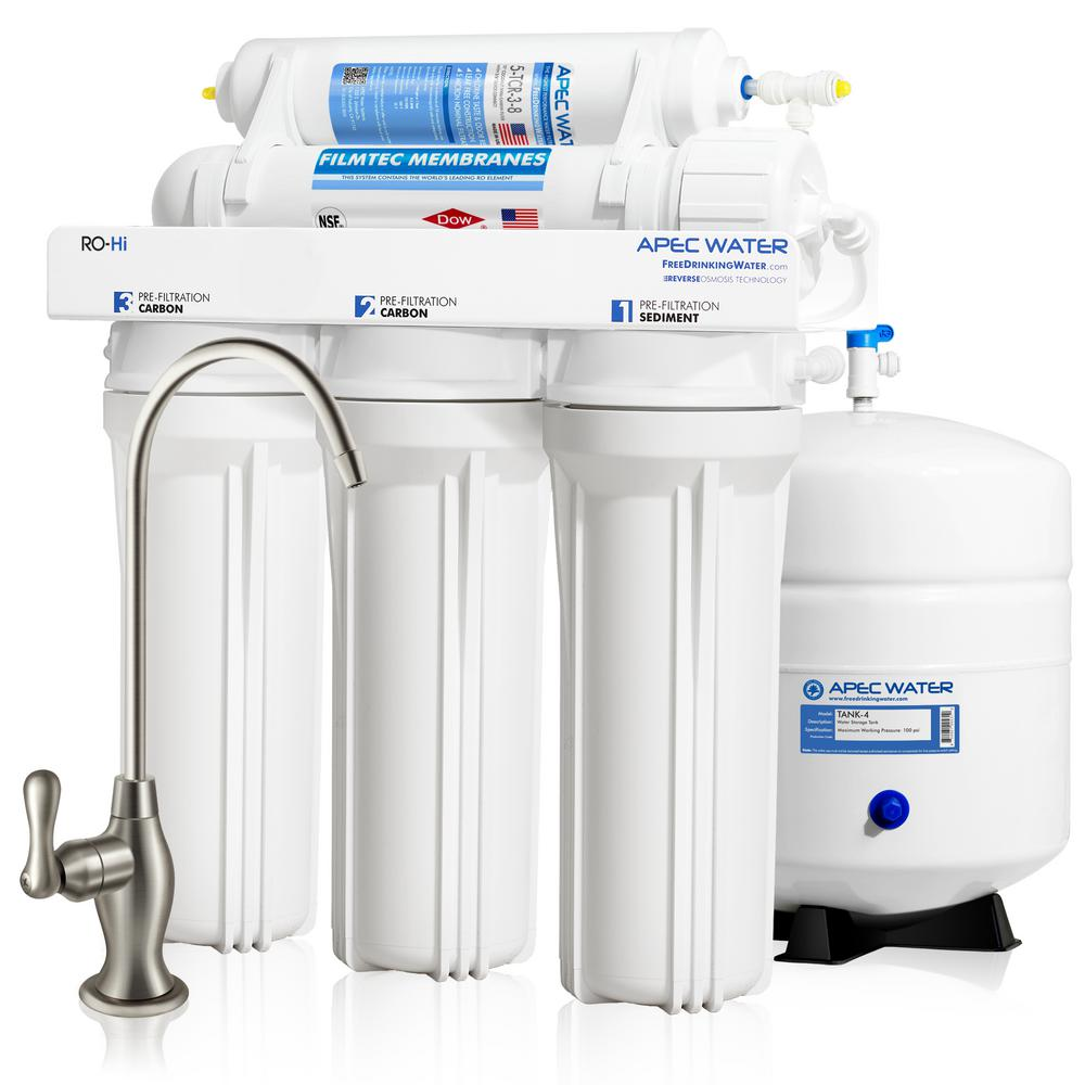 Reverse Osmosis Drinking Water System Apec Water Systems Ultimate Premium Quality Fast Flow 90 Gpd Under Sink Reverse Osmosis Drinking Water Filter System