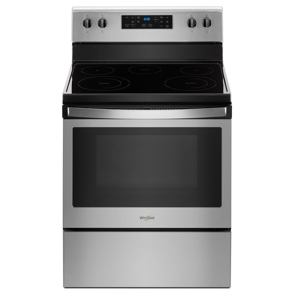 Oven Whirlpool Whirlpool 5.3 Cu. Ft. Freestanding Electric Range With