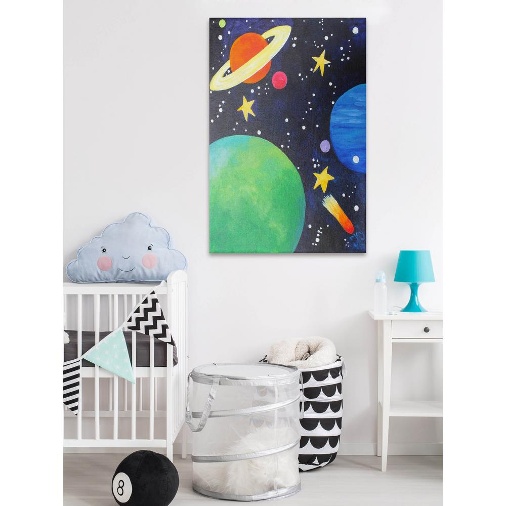 Planets Wall Art 18 In H X 12 In W