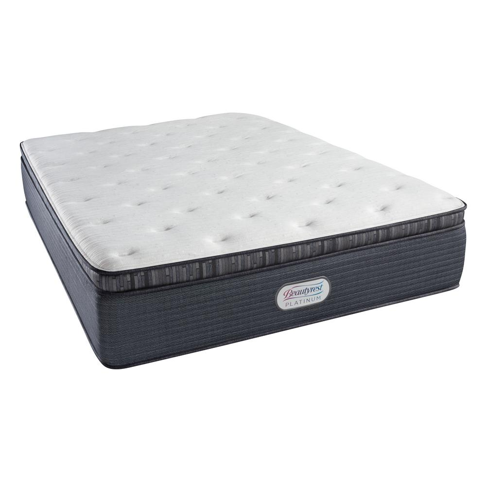Pillow Top King Mattress Beautyrest Platinum Spring Grove Luxury Firm Pillow Top King Mattress