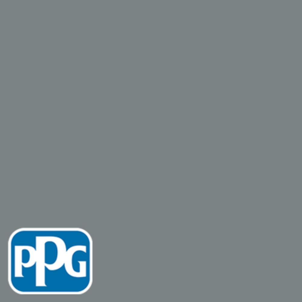 Cool Blue Paint Ppg Timeless 1 Gal Hdppgcn38 Cool Metalwork Grey Semi Gloss Interior One Coat Paint With Primer