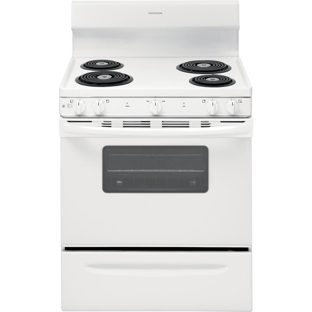 Frigidaire Stove Parts Canada Frigidaire 30 In 4 2 Cu Ft Electric Range In White