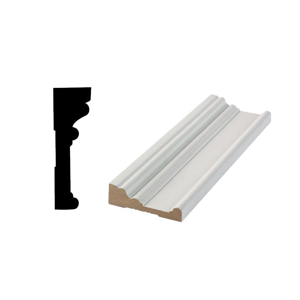 Home Depot Door Casing Rb 03 63 64 In X 3 1 2 In X 96 In Primed Mdf Door And Window Casing