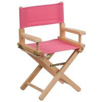 Flash Furniture Kid Size Directors Chair in Pink-TYD03PK ...