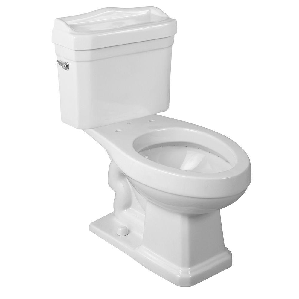 Ew Series Foremost Series 1930 2 Piece 1 6 Gpf Single Flush Elongated Toilet In White