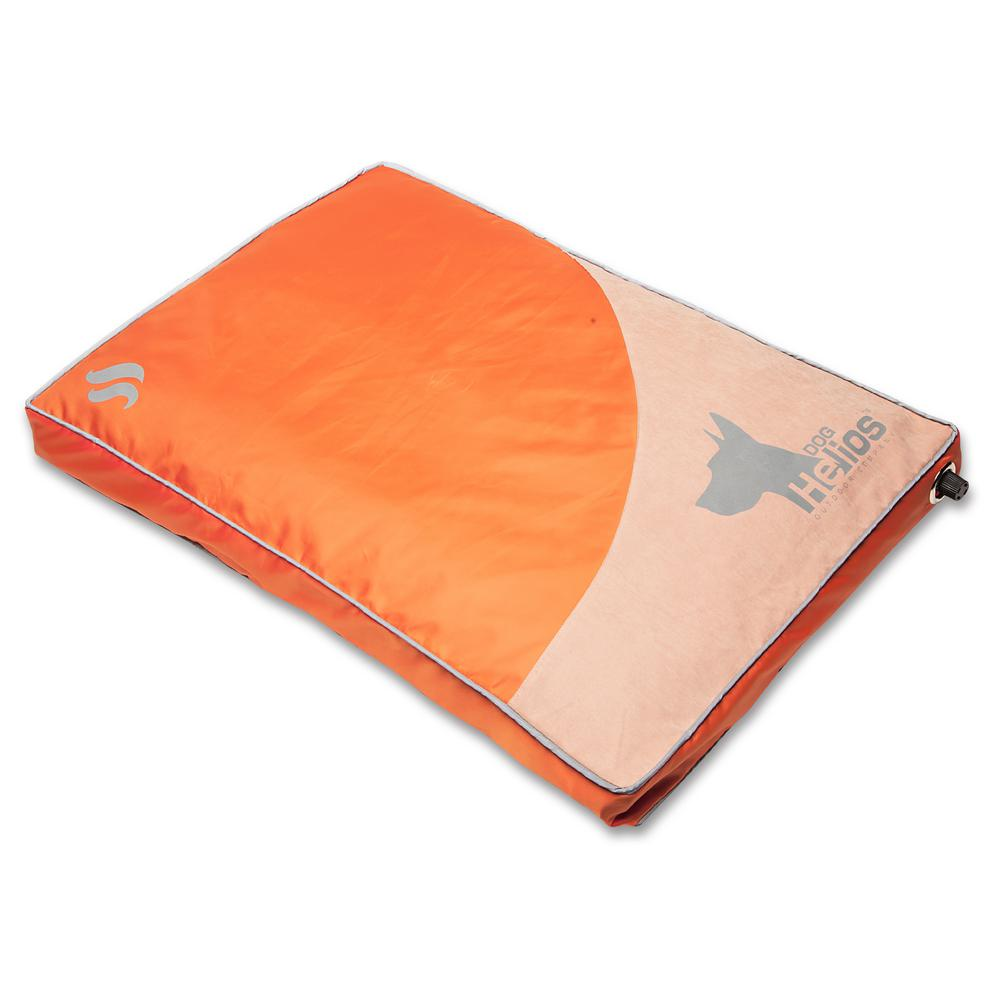 Camping Aero Bed Dog Helios Small Orange Aero Inflatable Outdoor Camping Travel Waterproof Pet Dog Mat Bed