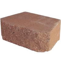 4 in. x 11.75 in. x 6.75 in. Terracotta Concrete Retaining ...