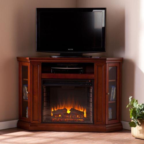 Medium Crop Of Corner Fireplace Tv Stand