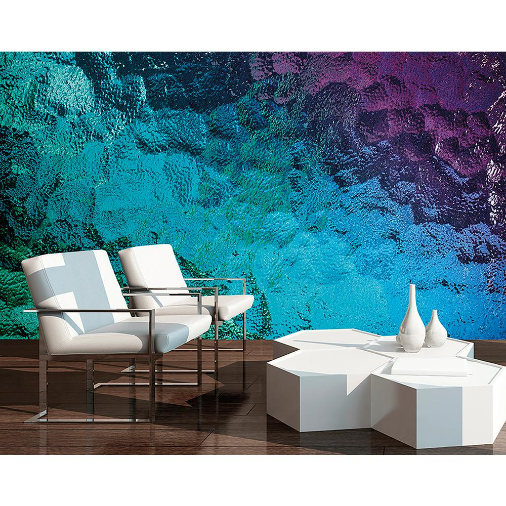 Wallpaper Murals For Bathrooms Colored Glass Wall Mural