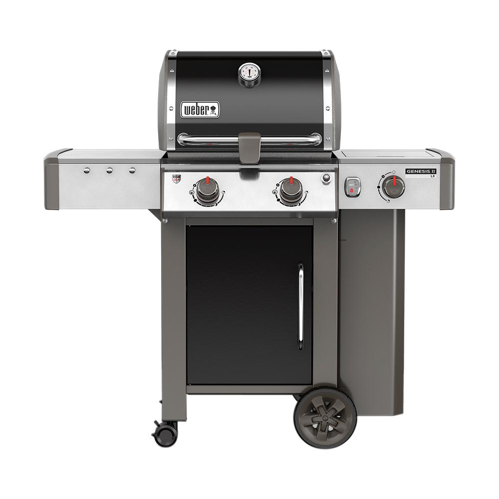 Weber Grill Spirit E 310 Weber Genesis Ii Lx E 240 2 Burner Propane Gas Grill In Black With Built In Thermometer And Grill Light
