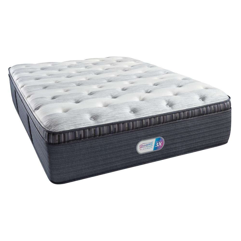 Pillow Top King Mattress Beautyrest Platinum Haven Pines Plush Pillow Top King Mattress