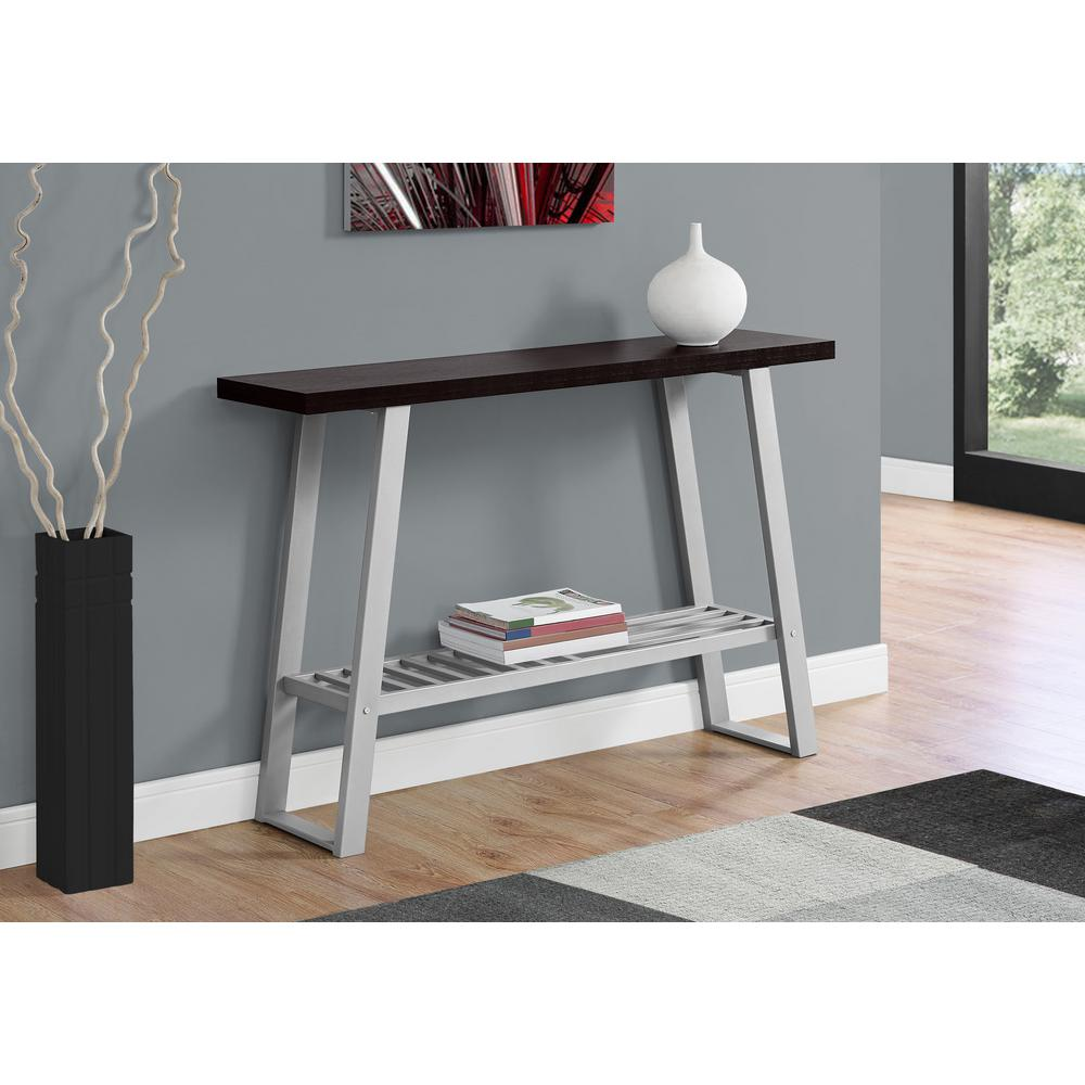Console Table But Cappuccino Console Table