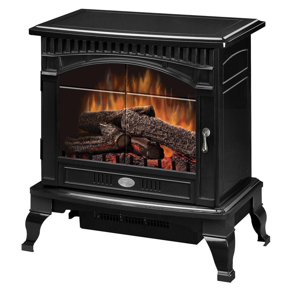 Best Electric Stove Fireplace Dimplex Traditional 400 Sq Ft Electric Stove In Gloss Black