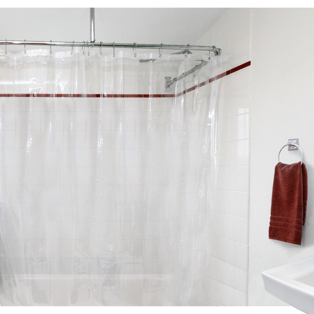 82 Shower Curtain Shower Liners Shower Accessories The Home Depot