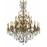 Elegant Lighting 45-Light French Gold Chandelier with ...