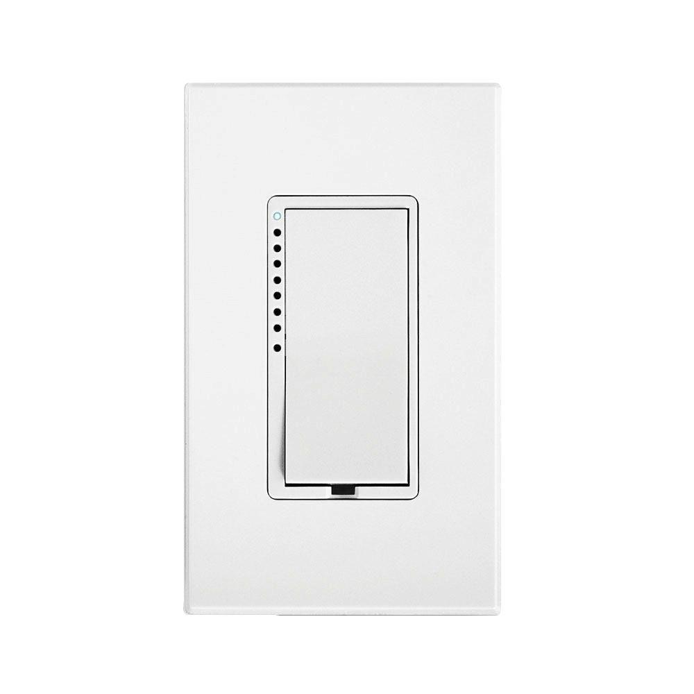 Dimmer Switch Insteon 1000 Watt Multi Location Tap Cfl Led Dimmer Switch White