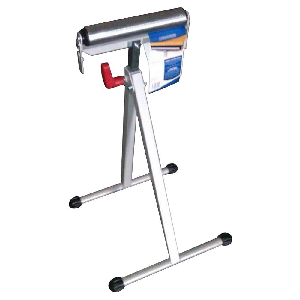 HDX 43 in. Steel Roller Stand with Edge Guide