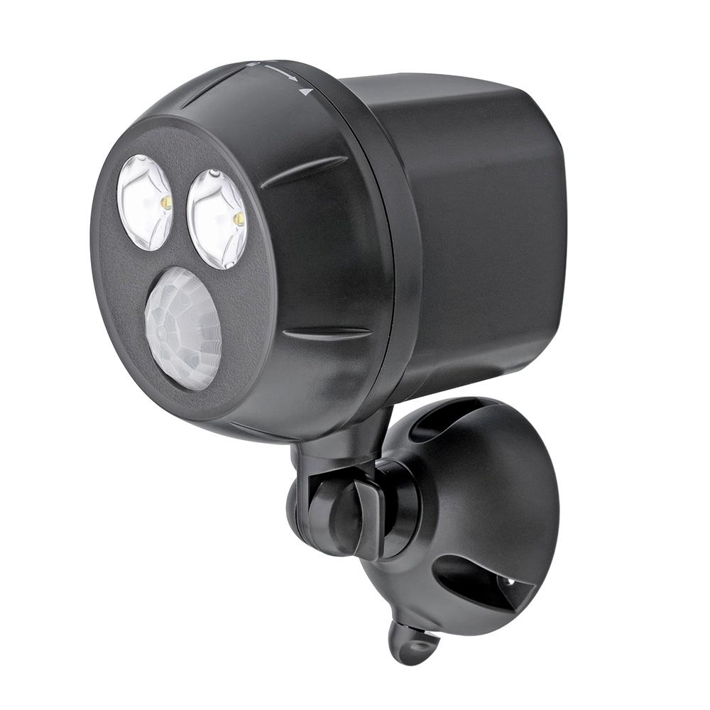 Motion Detector Lights Outdoor Mr Beams 400 Lumen Outdoor Brown Weatherproof Wireless Battery
