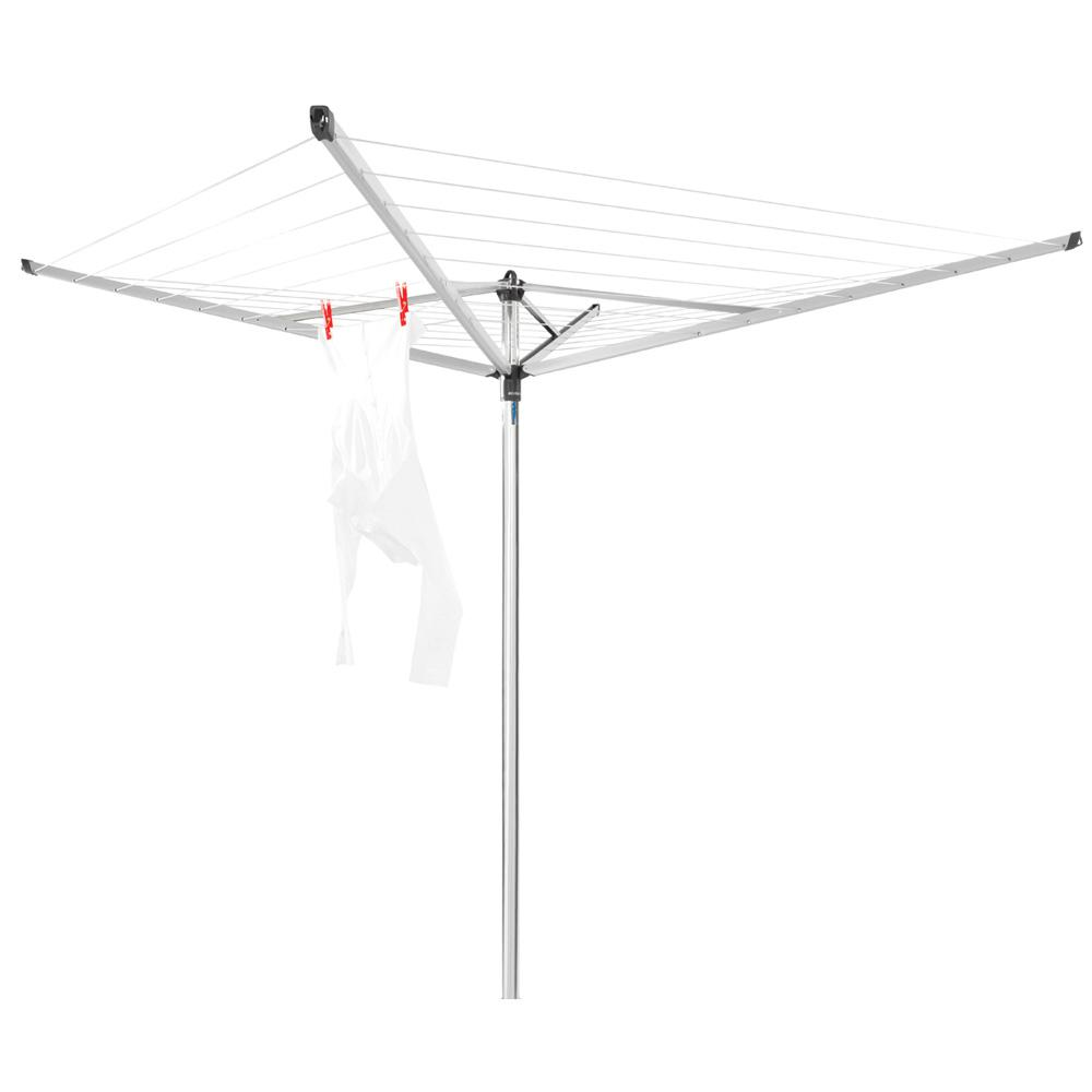Brabantia Contact Brabantia Brabantia Topspinner Rotary Clothesline With Ground Spike 131ft 40m