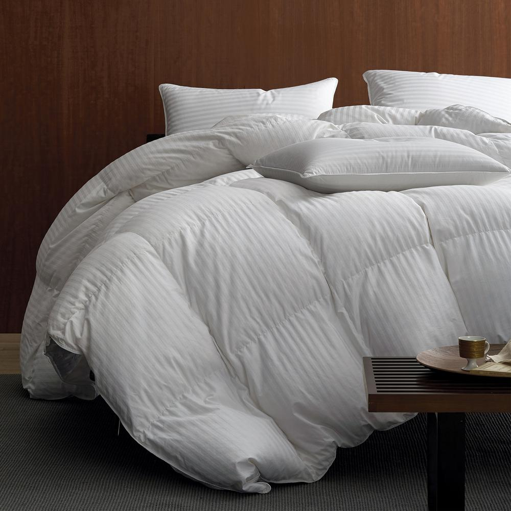 Damask Duvet The Company Store Legends Luxury Baffled Damask Super Light Warmth White Queen Down Comforter