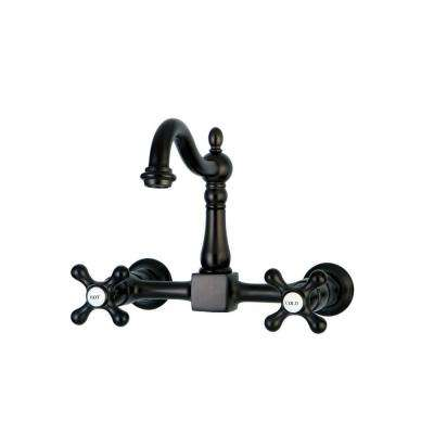 Wall Mount - Kitchen Faucets - Kitchen - The Home Depot - wall mount kitchen faucet