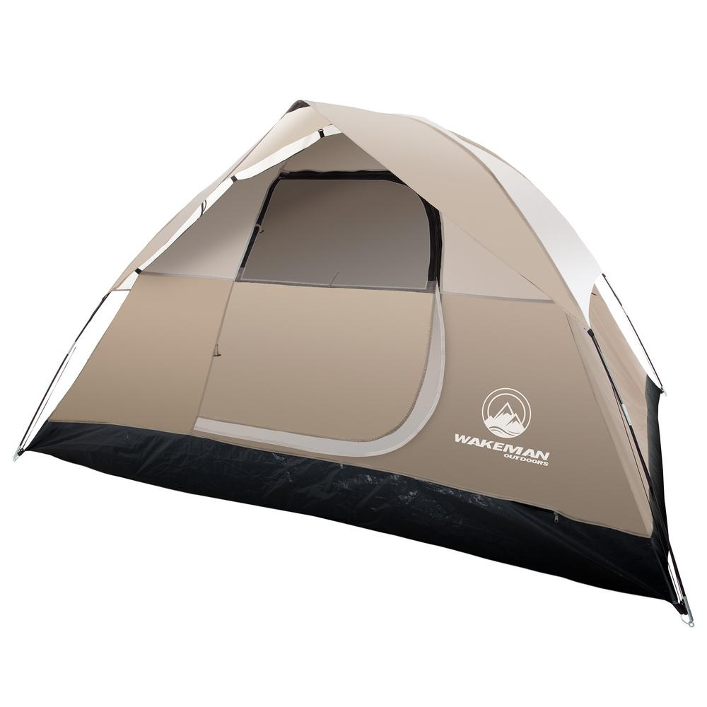 4 Camping Wakeman 4 Person Dome Tent