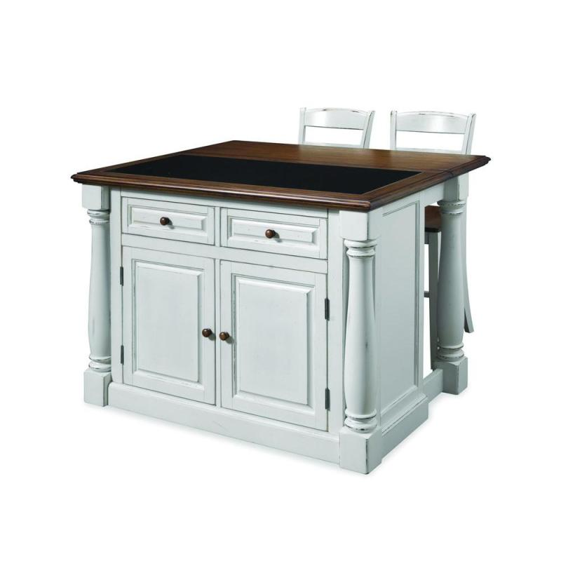 Large Of White Kitchen Island Table