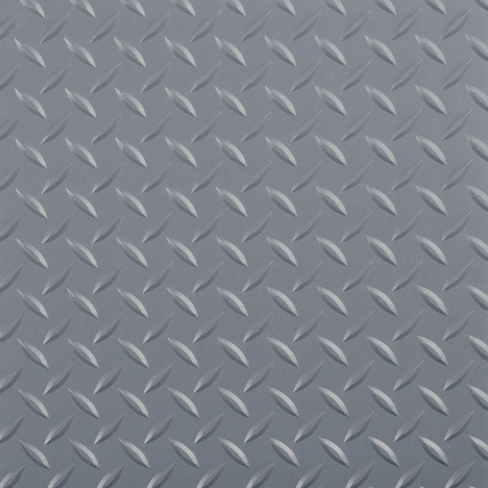 Drymate Garage Floor Mat Review 7 5 Ft X 17 Ft Diamond Grey Universal Flooring