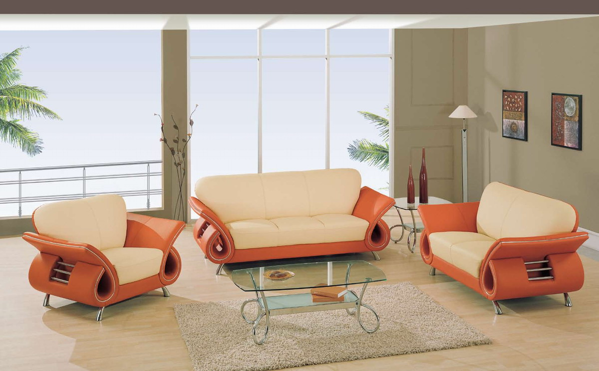 Living Room Sofas Sets Global Furniture Usa 559 Living Room Collection Beige Orange