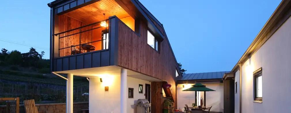8 schöne Häuser, die günstig zu bauen waren - gunstig modern bauen