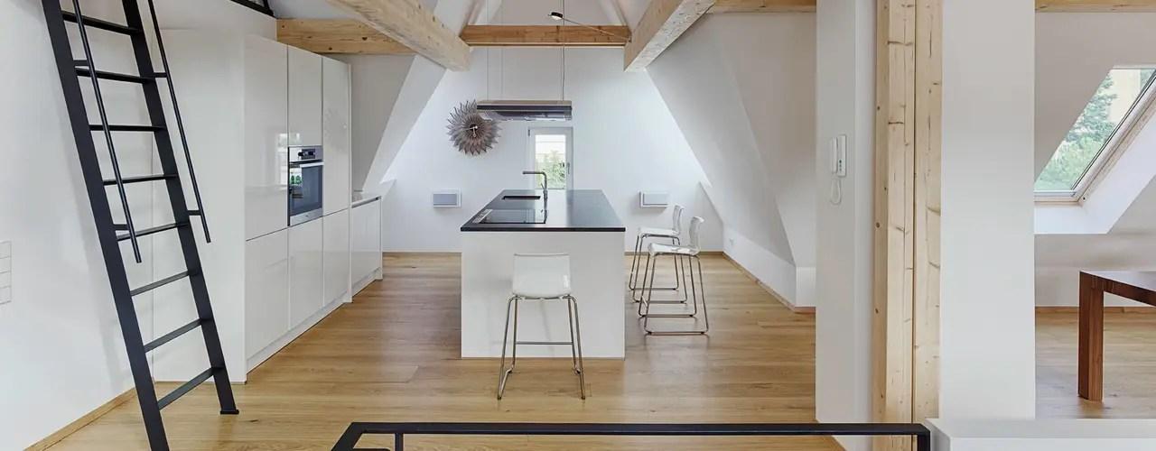 Küche In Dachschräge Einbauen