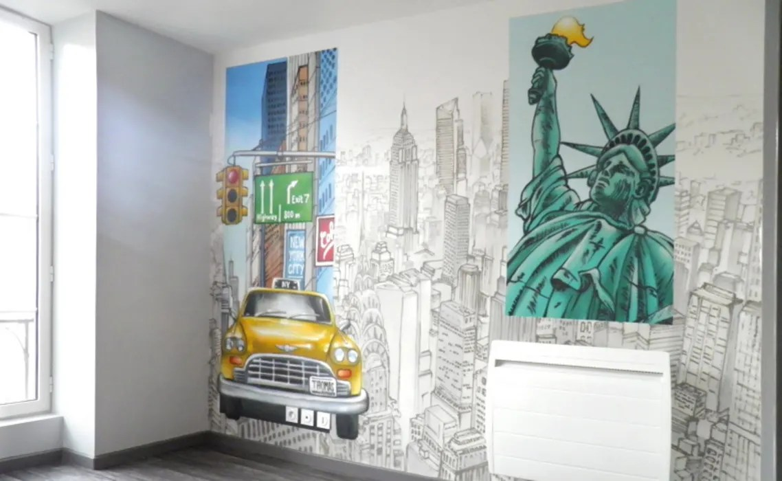 Chambre Enfant New York Ambiance New York Pour Chambre D Enfant Chambre D Enfant De Style