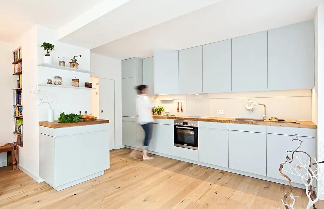 Offene Küche Parkett