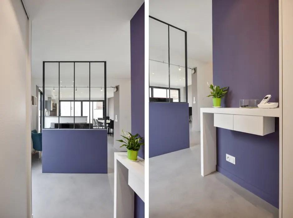 Aménagement d\u0027une pièce à vivre dans une maison à lyon 08 couloir - Amenagement De La Maison