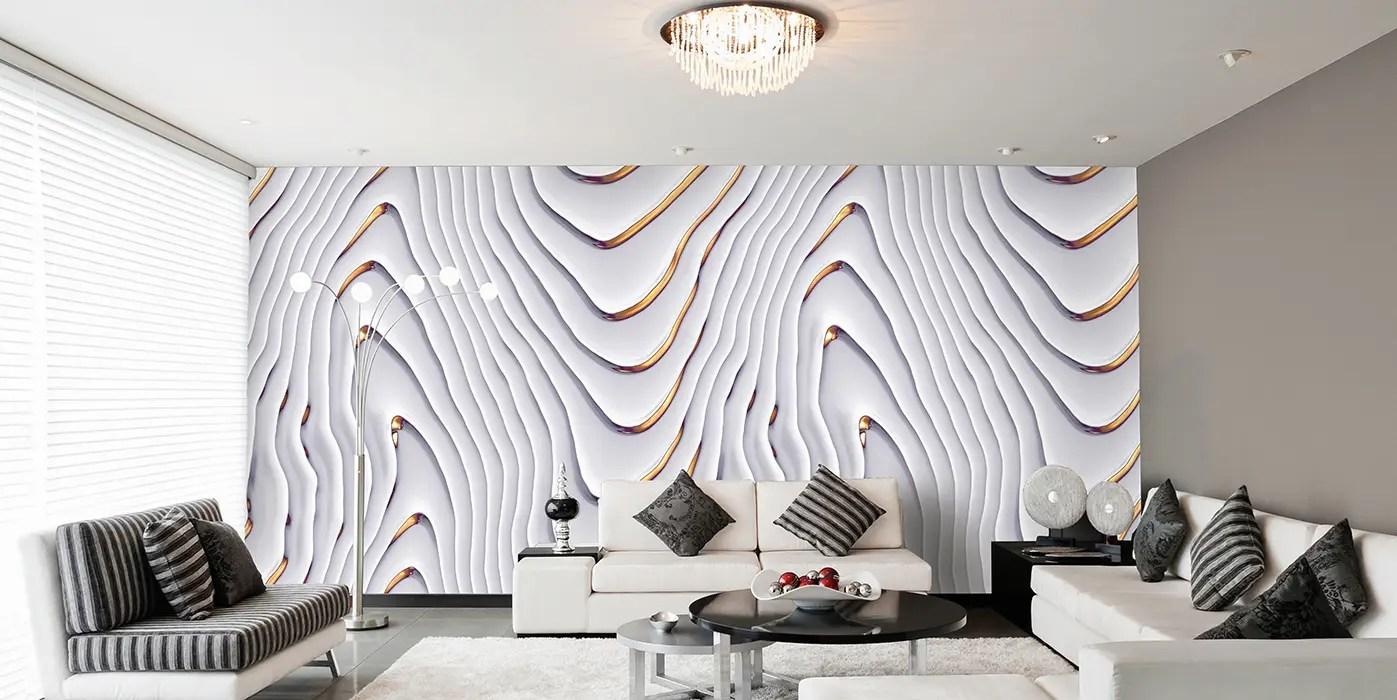 Wohnzimmer Weiß Gold   Wohnzimmer Dekoration Ideen Grun Silber ...