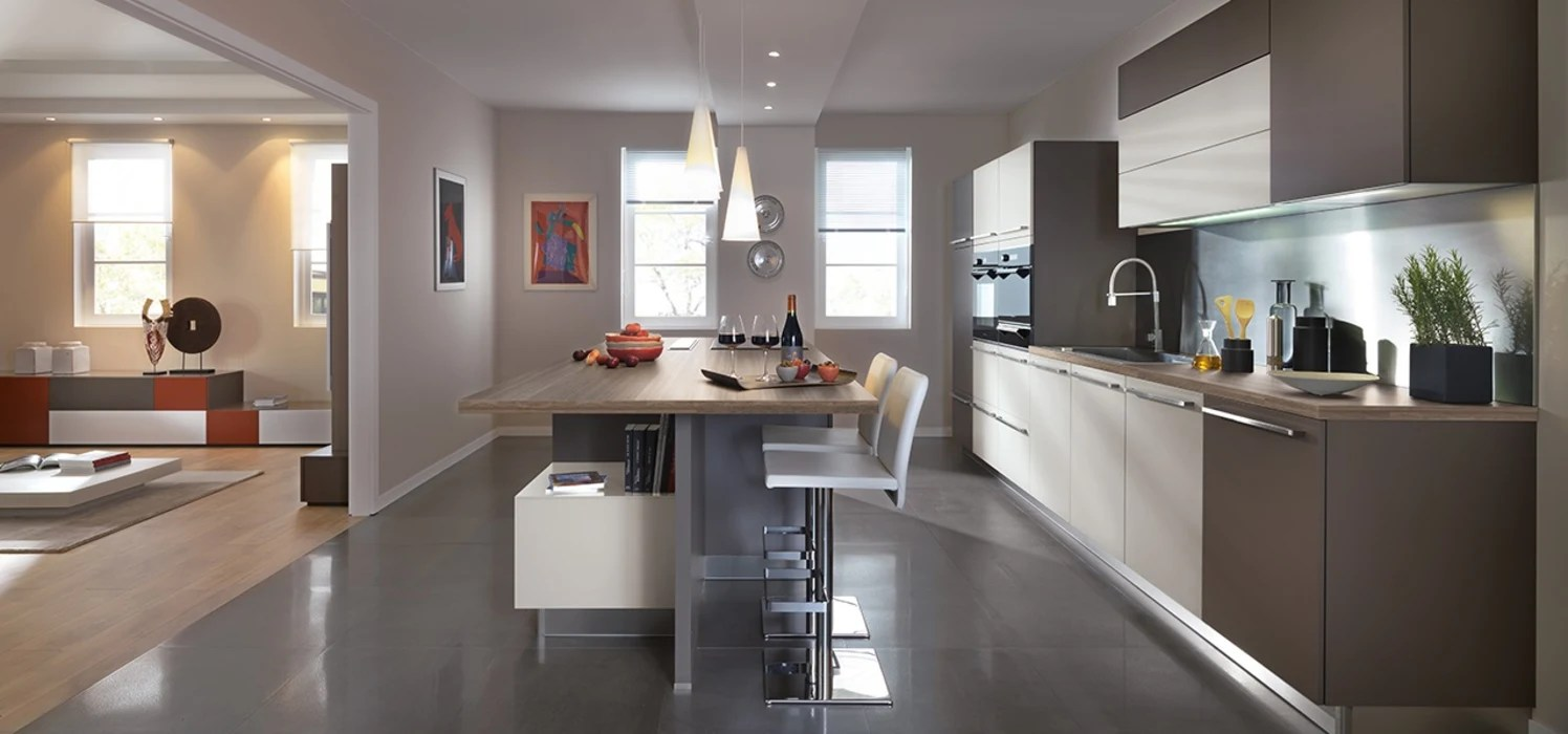 Modern Kitchen With Island By Schmidt Modern Style Kitchen By - Cocinas Schmidt