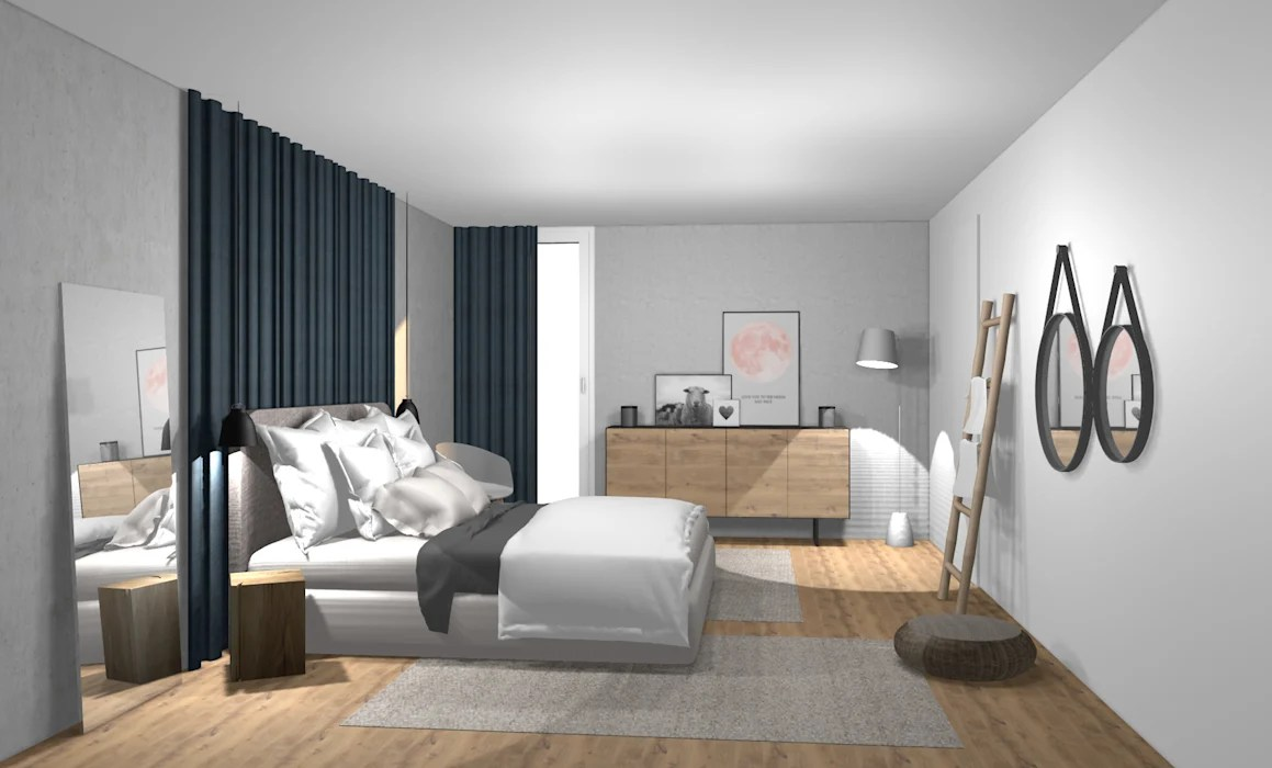 Modern Style Bedroom By Wohnly Modern Concrete Homify