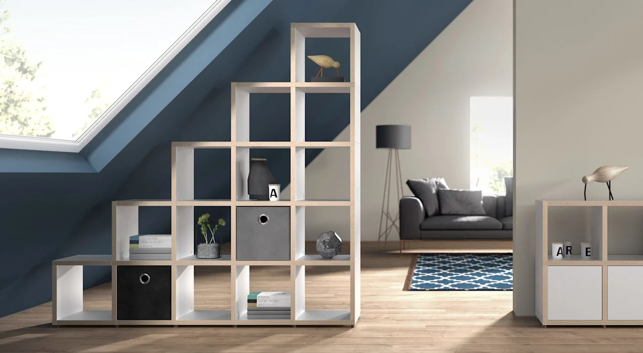 Regalraum Boon Boon Cube Storage Units Stepped Shelves Living Room By Regalraum