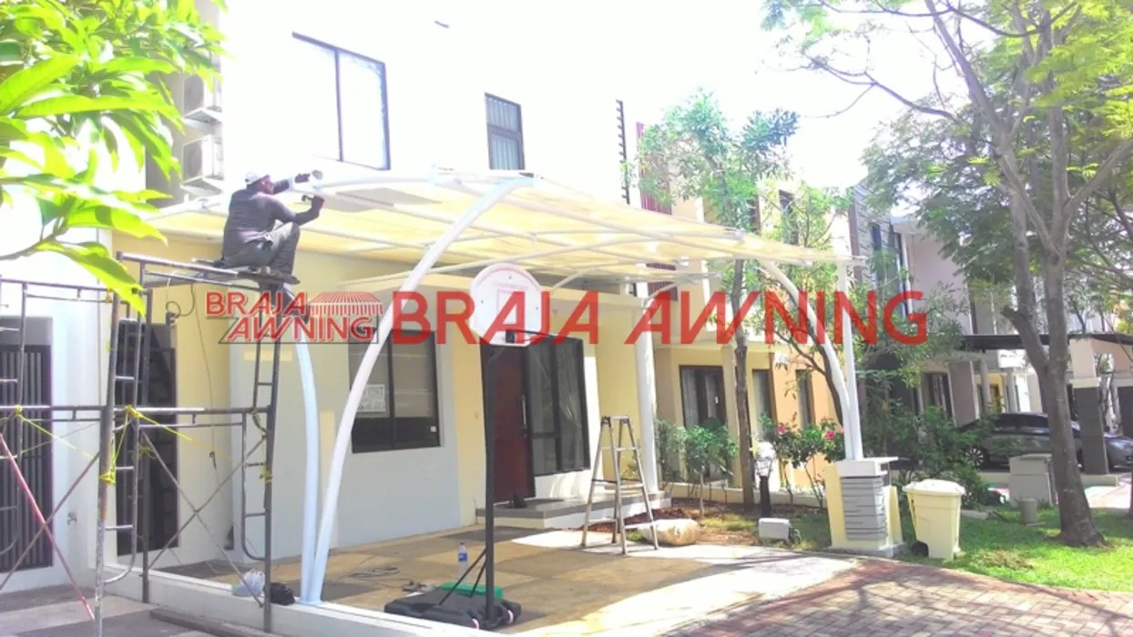 Model Awning Rumah Garages Sheds By Braja Awning Canopy Homify
