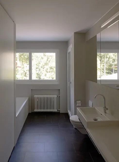 Umbau eines Mehrfamilienhauses aus den 30er Jahren in Luzern von - badezimmer 30er jahre