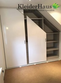 Fitted Sloping Ceiling Sliding Door Wardrobe by ...