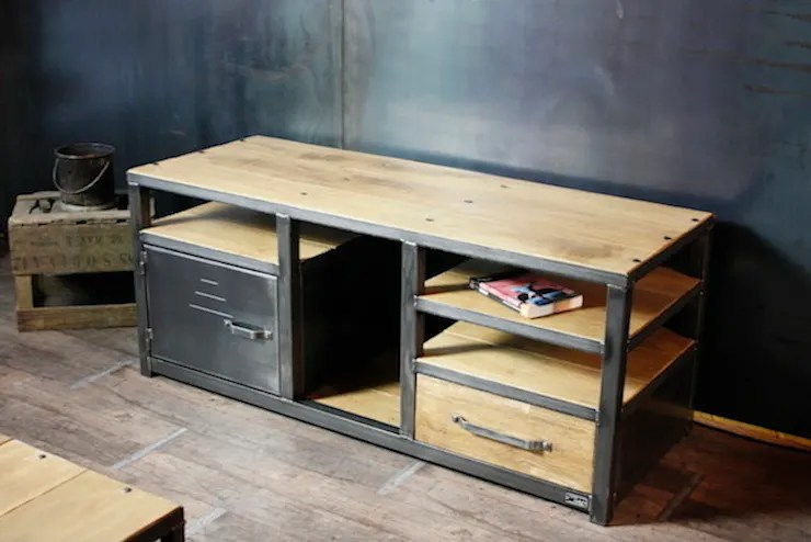 Meuble Tv Industriel Micheli Design Nos Meubles Tv De Style Industriel Par Micheli Design | Homify