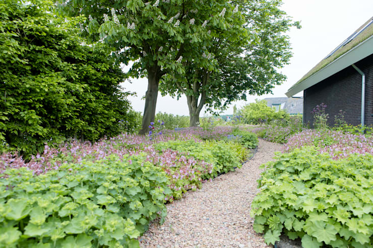 Mocking Hoveniers Mocking Hoveniers: Vaste Planten Tuin In Houten | Homify