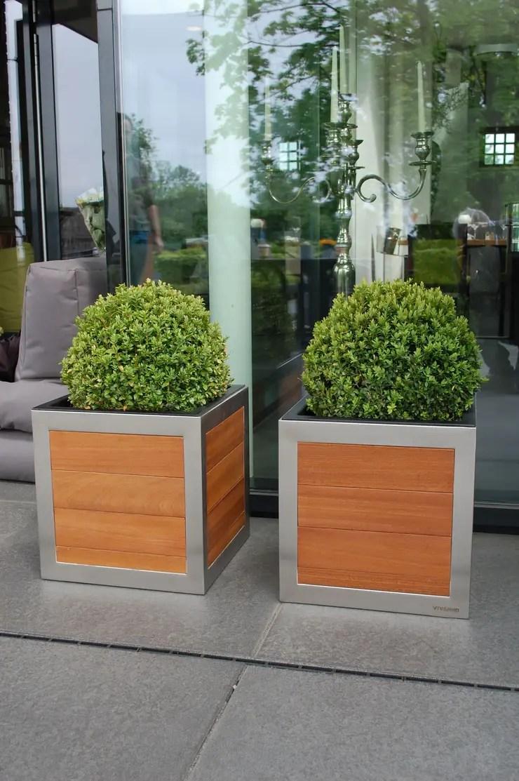 Pflanzkübel Für Terrasse Sichtschutz Terrasse Pflanzkübel