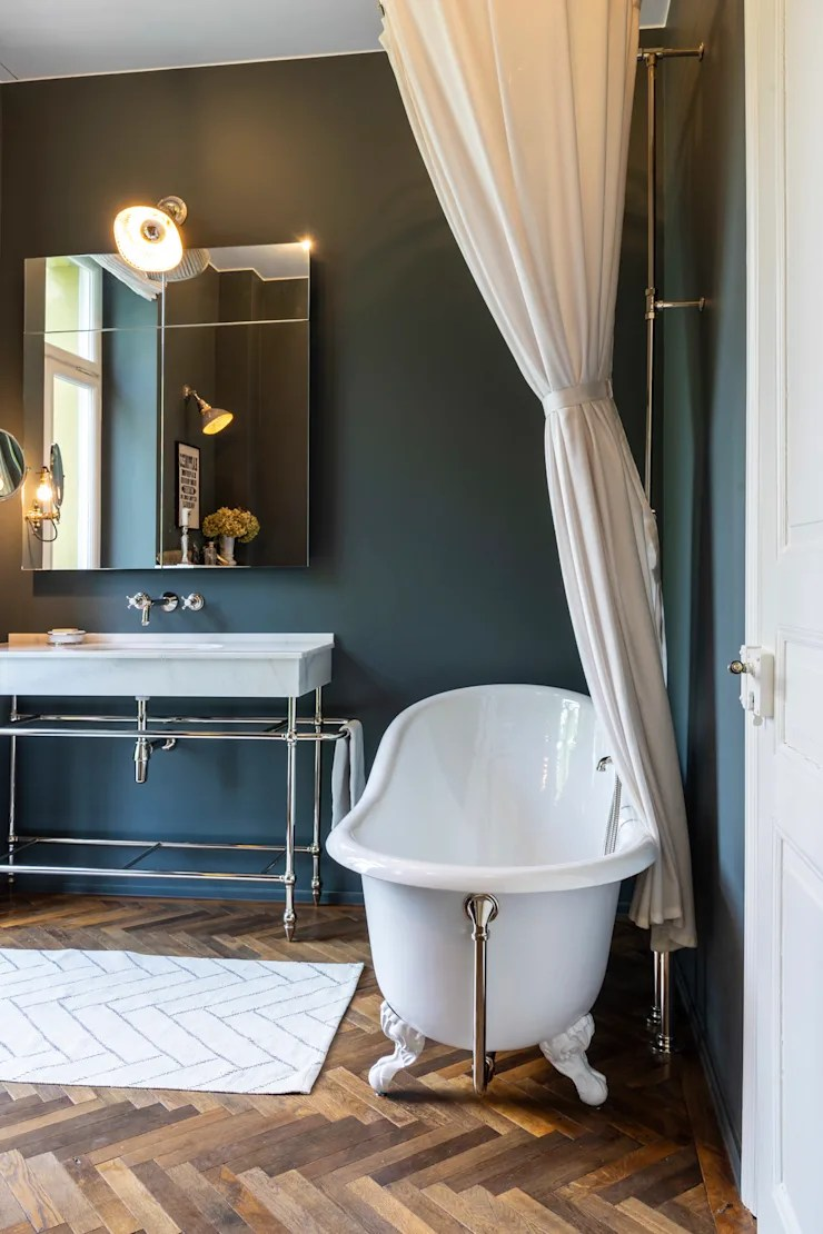 Badezimmer Retro-stil Vintage Bad Von Traditional Bathrooms Gmbh Homify