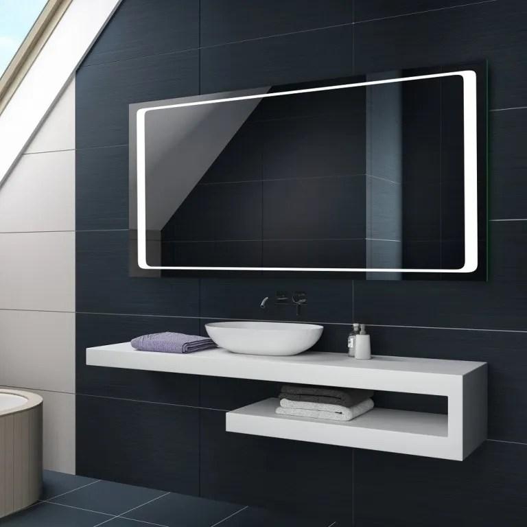 Espejo Led Baño | Armario De Baño Con Espejo Y Luz Led Tipo Mueble ...
