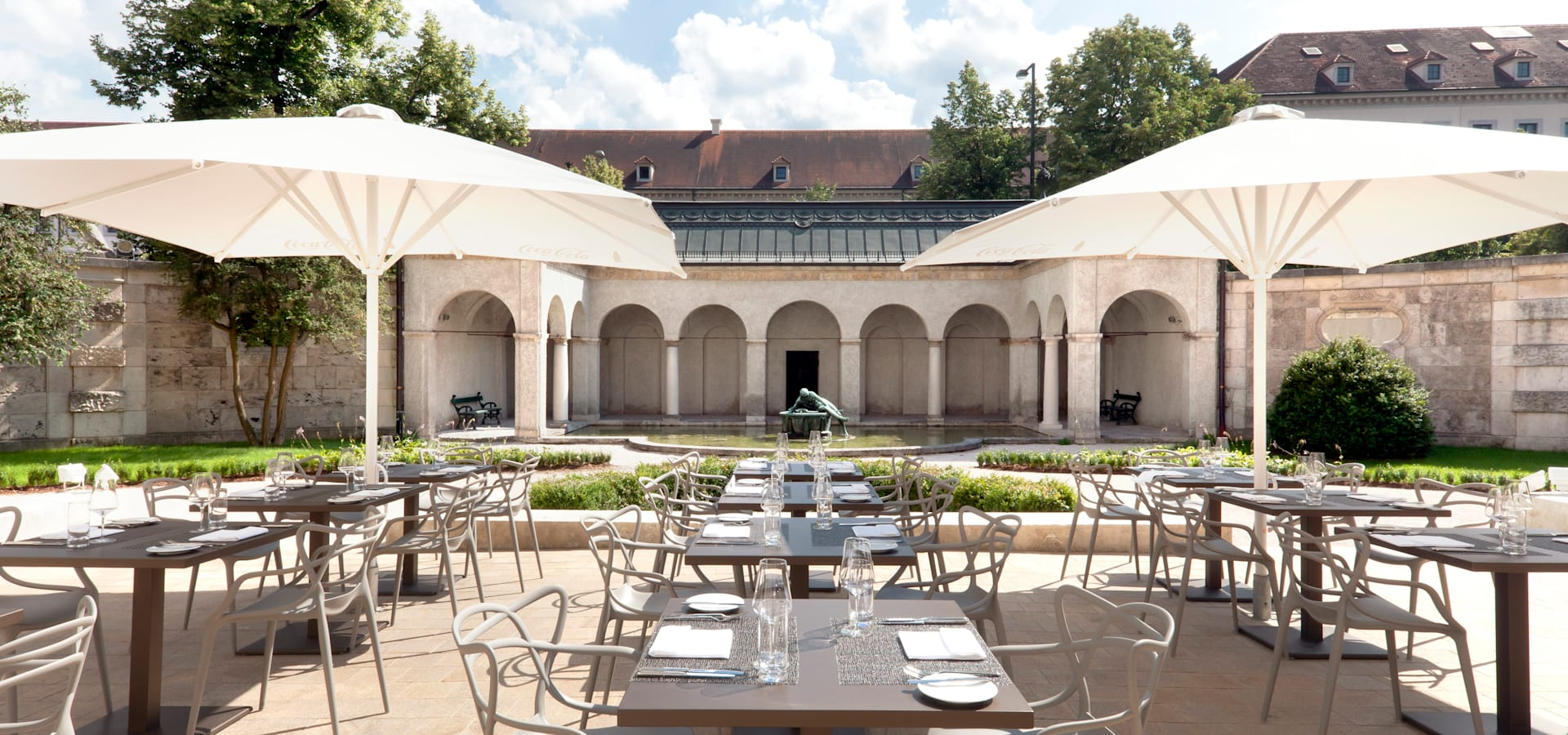 Restaurant Bayerisches Nationalmuseum Restaurant Bayerisches Nationalmuseum By Brückner Architekten Gmbh
