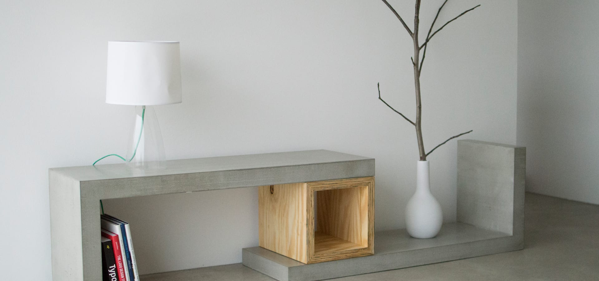 Couchtisch Square Concrete Square Wood Sideboard Couchtisch Bank By